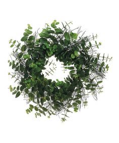 Take a look at this Eucalyptus Twig Wreath by Allstate Floral & Craft on #zulily today!