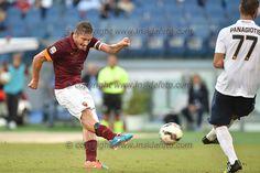 Happy birthday Francesco #Totti #totti38 #asRoma  Roma 27-09-2014 Stadio Olimpico, Football Calcio Serie A AS Roma - Hellas Verona. Foto Andrea Staccioli / Insidefoto