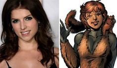 Anna Kendrick interested in playing Squirrel Girl in a hypothetical film. The Scott Pilgrim vs. the World and Pitch Perfect actress said…