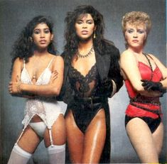 """Vanity 6 was an American R&B/Funk female vocal trio assembled by American musician Prince in mid–1981. The trio included his girlfriend Susan Moonsie, Boston native Brenda Bennett, and Denise Matthews, a model and Canadian B movie actress. Matthews was eventually re-christened """"Vanity."""""""