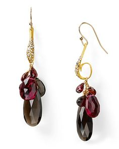 Alexis Bittar Siyabona Sunset Gold Basket Cluster Earrings - New Arrivals - Jewelry - Jewelry & Accessories - Bloomingdale's