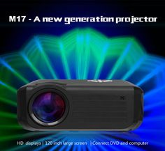 Coupon Price: $106..99 [Coupon Code:GBPM17]  M17 LCD HDMI Video Projector 1800 Lumens