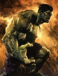 The Incredible Hulk by Patric Reynolds, colours by Jeremy Colwell * Hulk Comic, Hulk Avengers, Marvel Heroes, Marvel Avengers, Comic Art, Dc Comics Characters, Dc Comics Art, Marvel Dc Comics, Iron Man Photos