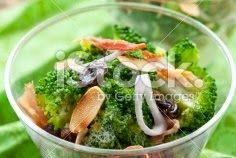 Health Envoy: Broccoli-Raisin Salad with Chickpeas | Preparation...