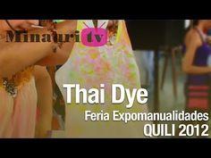 DIY - Tie-Dye ( Thai Dye ) - YouTube