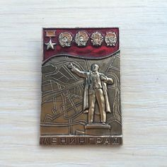 Lenin  Soviet pin badge  Old vintage soviet USSR pin от PinBadges