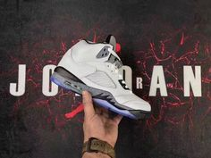 2017 Air Jordan 5 White Cement - Cheap Jordan Shoes For Sale 42640e7d9