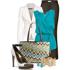 """Chevron Style"" by happygirljlc on Polyvore"