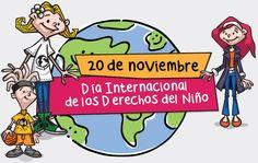 20 DE NOVIEMBRE: DÍA INTERNACIONAL DE LOS DERECHOS DEL NIÑO