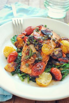 "Salmon For One Easily doable for large groups too! ""Pan-Seared Salmon For One by bevcooksEasily doable for large groups too! ""Pan-Seared Salmon For One by bevcooks Salmon Recipes, Fish Recipes, Seafood Recipes, Cooking Recipes, Healthy Recipes, Cooking Tips, Cooking Food, I Love Food, Good Food"