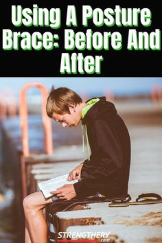 Are you wondering what using a posture brace before and after might look like? In this article, I try to answer just that and more. Posture Correction Exercises, Posture Exercises, Better Posture, Bad Posture, Weight Loss Goals, Weight Loss Motivation, Braces Before And After, Weight Training For Beginners, Fitness Motivation Pictures