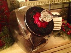 Hand Painted Christmas Gift Holiday 2013 by CountertopCouture, $48.00