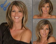 Medium Hair Styles - 20 Best Medium Hair Cuts with Bangs Medium Bob Hairstyles, Hairstyles With Bangs, Straight Hairstyles, Love Hair, Great Hair, Gorgeous Hair, Medium Hair Cuts, Medium Hair Styles, Short Hair Styles
