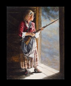 Ye Journal of Mad Anne Bailey American Frontier Heroine: Anne's Story American Revolutionary War, American War, Native American History, Early American, American Indians, Steve White, Female Of The Species, Into The West, West Art
