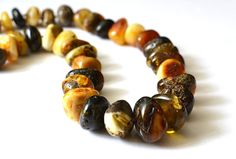 Natural Baltic Amber Necklace Huge Statement Necklace Genuine Amber
