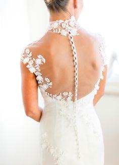 Wedding Dress: Blumarine. Stunning Laduree Themed Tuscany Wedding - MODwedding