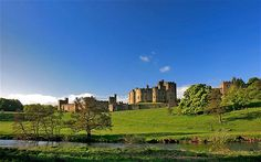Alnwick Castle, Northumberland. (Some scenes in Harry Potter filmed here) THIS IS WHERE MY FAMILY IS FROM!