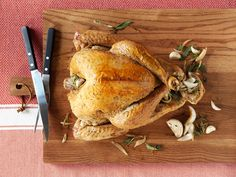 Easy Herb Roasted Turkey from CookingChannelTV.com