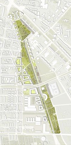 Jörg Wessendorf, Atelier Loidl Landscapearchitects — Stadtraum Bayerischer Bahnhof — Image 2 of 6 - Europaconcorsi Architecture Site Plan, Architecture Graphics, Urban Architecture, Landscape And Urbanism, Landscape Plans, Urban Landscape, Landscape Concept, Landscape Designs, The Plan