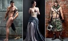 Photographer Michael Stokes , 52, is finally releasing Always Loyal, his much-anticipated hardcover book on November 15, featuring both male and female amputee veterans.