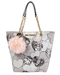 Designer Clothes, Shoes & Bags for Women Betsy Johnson Purses, Betsey Johnson Handbags, Best Purses, Cute Purses, Cute Handbags, Purses And Handbags, Luxury Handbags, Metallic Handbags, White Tote Bag
