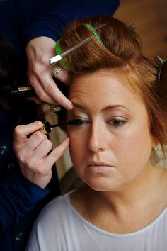 Lina Cameron is an internationally known make-up artist who has worked with some of the biggest names in the beauty industry including Bobbi Brown, Estee Lauder, Chanel, YSL and Trish McEvoy - http://www.linacameron.com/services/lessons/
