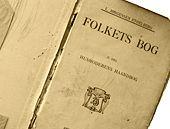 Mange af opskrifterne er fra 'Husmoderens Haandbog', Oldemors kogebog fra 1904