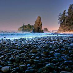 About Olympic National Park, Washington - Sunset