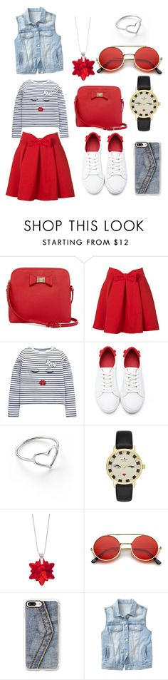"""Untitled #296"" by norhenbijaoiu ❤ liked on Polyvore featuring Liz Claiborne, WithChic, Jordan Askill, Kate Spade, Sevil Designs, Casetify and Gap"