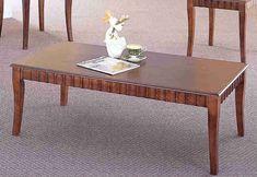 Τραπέζι Σαλονιού Σε Καρυδί Χρώμα Fl-121201 Decor, Furniture, Table, Home, Coffee Table, Home Decor