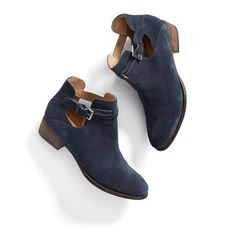 I really want some ankle boots , but I don't want ones that look different than everyone else. Love that these have some cut-outs