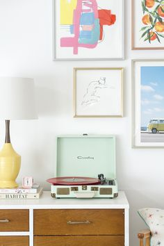 This spring calls for pastels and mid century style.