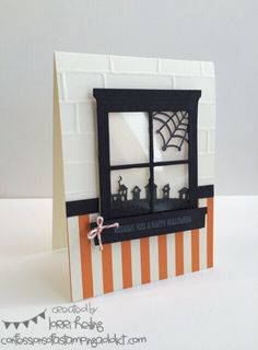 Halloween Window Car