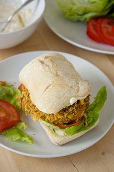 (Baked!) Crispy Chicken Sandwiches