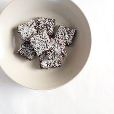 bon appetit's chocolate coconut date bars