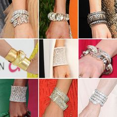 Cuffs - Recognize the one in the center from Oscar night?