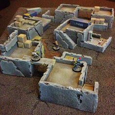 Tiny Solitary Soldiers: Pack-Away terrain