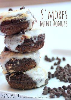 S'mores Mini Donuts