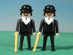 playmobil poppetjes met wandelstokken&hoedjes