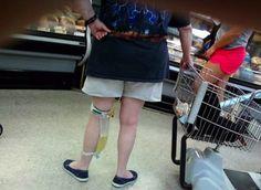 W R O N G!  Why, why, why would you not wear pants???!