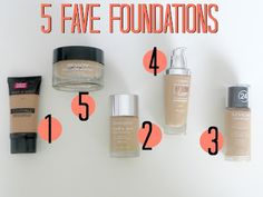 I have major dry skin, so i think this is a really good one for me. Best Drugstore Foundations for Dry Skin!