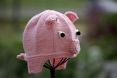 Ravelry: Little Pig Hat pattern by Irina Poludnenko