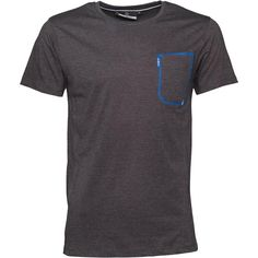 Duck and Cover Mens Pulse T-Shirt Anthracite Marl Duck and Cover short sleeve jersey t-shirt with contrast stitching. http://www.MightGet.com/february-2017-2/duck-and-cover-mens-pulse-t-shirt-anthracite-marl.asp