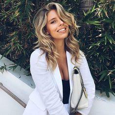 Beauty @tashoakley of @abikiniaday post-GLAM at #MiamiSwimWeek #gettingGLAM #getGLAMmiami
