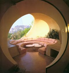 The Palace of Bubbles near Cannes is Pierre Cardin's summer house and is still a classic #MyVibeMyPearl