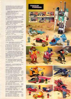 Transformers 1987 Sears Canada Catalog