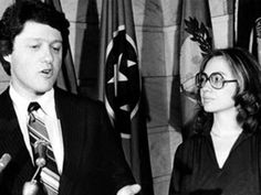 Hillary Clinton Bill Clinton Campaign Governor Arkansas Young ...