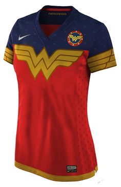 Everything Wonder Woman! Wonder Woman Outfit, Wonder Woman Shirt, Wonder Woman Party, Superman Wonder Woman, Super Hero Shirts, Soccer Uniforms, Gal Gadot, Cute Outfits, My Style