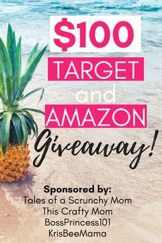 Check out this #giveaway ! get $100 #giftcards from #amazon and #target #momlife