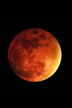 "A total lunar eclipse, sometimes described as a blood moon. The ""Blood Moon Prophecy"" is a prophecy surrounding the tetrad of eclipses beginning April"